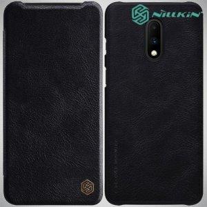 NILLKIN Qin чехол флип кейс для OnePlus 7 - Черный