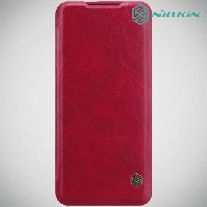 NILLKIN Qin чехол флип кейс для OnePlus 7 Pro - Красный