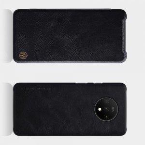 NILLKIN Qin чехол флип кейс для OnePlus 7T - Черный