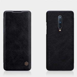 NILLKIN Qin чехол флип кейс для OnePlus 8 - Черный