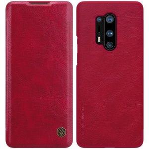 NILLKIN Qin чехол флип кейс для OnePlus 8 Pro - Красный