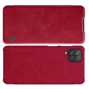 NILLKIN Qin чехол флип кейс для Samsung Galaxy A12 - Красный