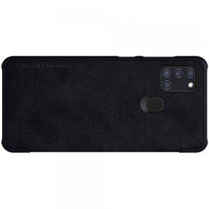 NILLKIN Qin чехол флип кейс для Samsung Galaxy A21s - Черный