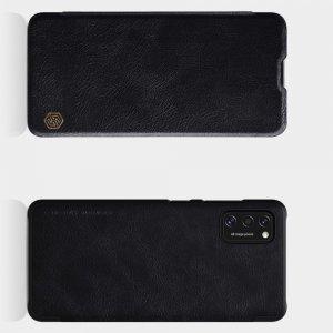 NILLKIN Qin чехол флип кейс для Samsung Galaxy A41 - Черный