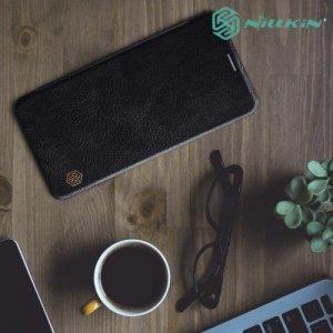 NILLKIN Qin чехол флип кейс для Samsung Galaxy A7 2018 SM-A750F - Черный