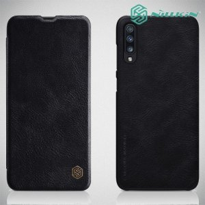 NILLKIN Qin чехол флип кейс для Samsung Galaxy A70 - Черный