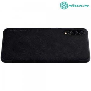 NILLKIN Qin чехол флип кейс для Samsung Galaxy A70s - Черный