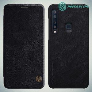 NILLKIN Qin чехол флип кейс для Samsung Galaxy A9 2018 SM-A920F - Черный