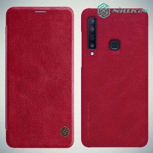 NILLKIN Qin чехол флип кейс для Samsung Galaxy A9 2018 SM-A920F - Красный