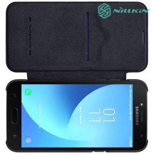 NILLKIN Qin чехол флип кейс для Samsung Galaxy J2 (2018) SM-J250F - Черный