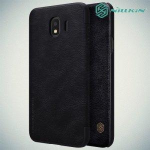 NILLKIN Qin чехол флип кейс для Samsung Galaxy J4 2018 SM-J400F - Черный