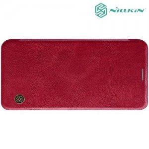 NILLKIN Qin чехол флип кейс для Samsung Galaxy J6 2018 SM-J600F - Красный