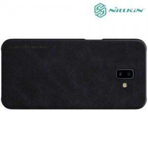 NILLKIN Qin чехол флип кейс для Samsung Galaxy J6 Plus - Черный