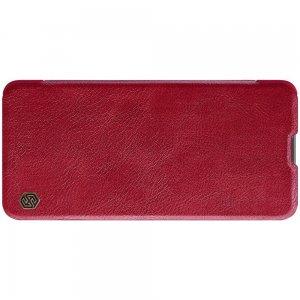 NILLKIN Qin чехол флип кейс для Samsung Galaxy M51 - Красный