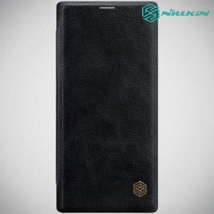 NILLKIN Qin чехол флип кейс для Samsung Galaxy Note 10+ - Черный