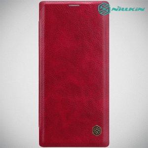 NILLKIN Qin чехол флип кейс для Samsung Galaxy Note 10+ - Красный