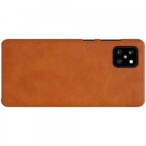 NILLKIN Qin чехол флип кейс для Samsung Galaxy Note 10 Lite - Коричневый