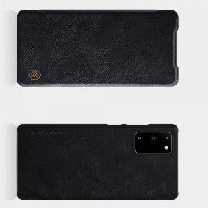 NILLKIN Qin чехол флип кейс для Samsung Galaxy Note 20 - Черный