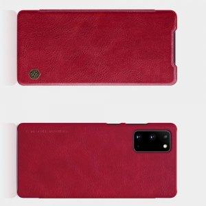 NILLKIN Qin чехол флип кейс для Samsung Galaxy Note 20 - Красный