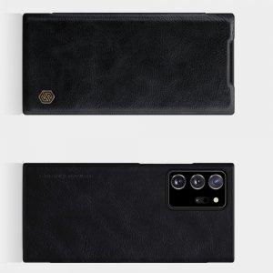 NILLKIN Qin чехол флип кейс для Samsung Galaxy Note 20 Ultra - Черный