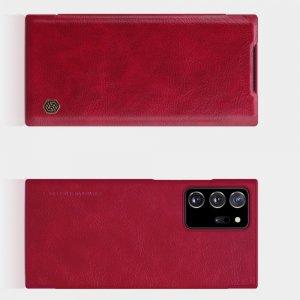 NILLKIN Qin чехол флип кейс для Samsung Galaxy Note 20 Ultra - Красный
