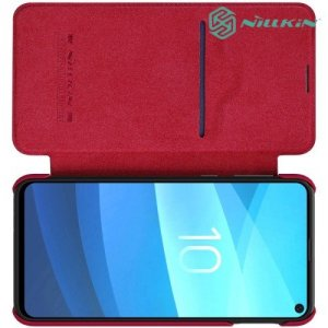 NILLKIN Qin чехол флип кейс для Samsung Galaxy S10e - Красный