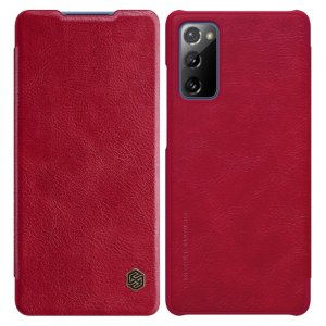 NILLKIN Qin чехол флип кейс для Samsung Galaxy S20 FE - Красный