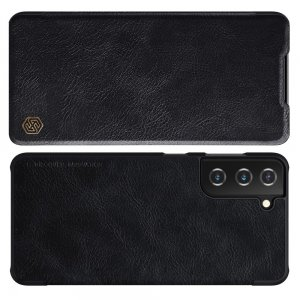 NILLKIN Qin чехол флип кейс для Samsung Galaxy S21 - Черный