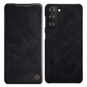 NILLKIN Qin чехол флип кейс для Samsung Galaxy S21 Plus / S21+ - Черный