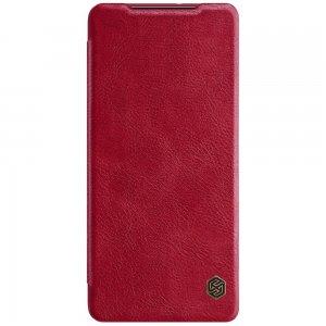 NILLKIN Qin чехол флип кейс для Samsung Galaxy S21 Ultra - Красный