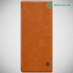 NILLKIN Qin чехол флип кейс для Sony Xperia 1 - Коричневый