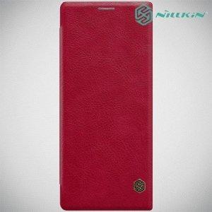 NILLKIN Qin чехол флип кейс для Sony Xperia 1 - Красный