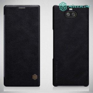 NILLKIN Qin чехол флип кейс для Sony Xperia 10 - Черный