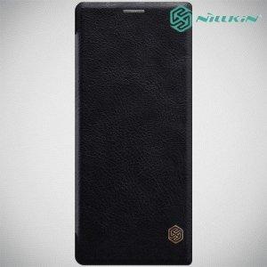 NILLKIN Qin чехол флип кейс для Sony Xperia 10 Plus - Черный