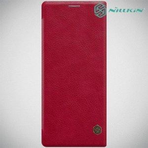 NILLKIN Qin чехол флип кейс для Sony Xperia 10 Plus - Красный