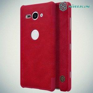 NILLKIN Qin чехол флип кейс для Sony Xperia XZ2 Compact - Красный
