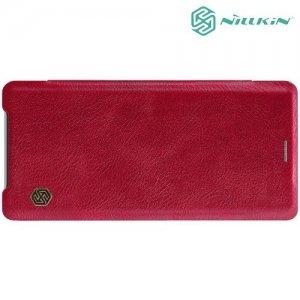 NILLKIN Qin чехол флип кейс для Sony Xperia XZ3 - Красный