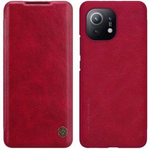 NILLKIN Qin чехол флип кейс для Xiaomi Mi 11 - Красный