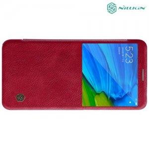 NILLKIN Qin чехол флип кейс для Xiaomi Mi 6x / Mi A2 - Красный