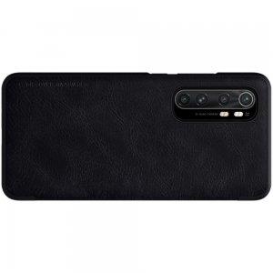 NILLKIN Qin чехол флип кейс для Xiaomi Mi Note 10 Lite - Черный