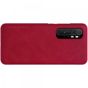 NILLKIN Qin чехол флип кейс для Xiaomi Mi Note 10 Lite - Красный