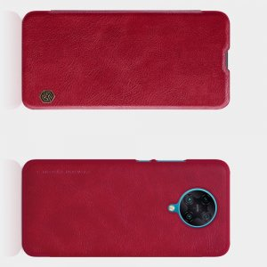 NILLKIN Qin чехол флип кейс для Xiaomi Poco F2 Pro - Черный