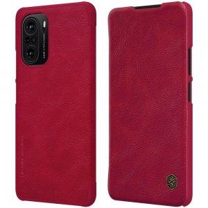 NILLKIN Qin чехол флип кейс для Xiaomi POCO F3 - Красный