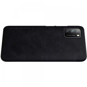 NILLKIN Qin чехол флип кейс для Xiaomi Poco M3 - Черный
