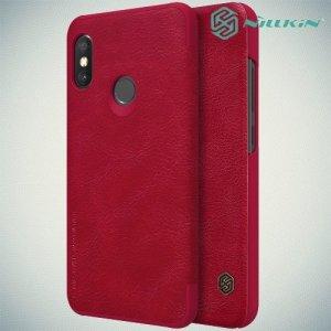 NILLKIN Qin чехол флип кейс для Xiaomi Redmi 6 Pro / Mi A2 Lite - Красный
