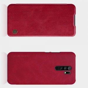 NILLKIN Qin чехол флип кейс для Xiaomi Redmi 9 - Красный