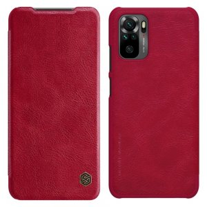 NILLKIN Qin чехол флип кейс для Xiaomi Redmi Note 10 - Красный