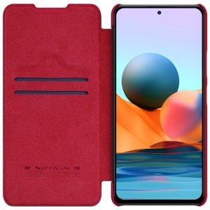 NILLKIN Qin чехол флип кейс для Xiaomi Redmi Note 10 Pro - Красный