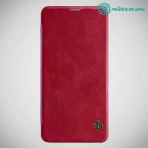 NILLKIN Qin чехол флип кейс для Xiaomi Redmi Note 8 Pro - Красный