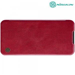 NILLKIN Qin чехол флип кейс для Xiaomi Redmi Note 8T - Красный
